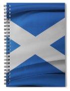 Scottish Flag Spiral Notebook