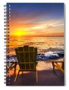 Sea Dreams II Spiral Notebook