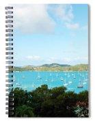 Sea Of Sailboats Spiral Notebook