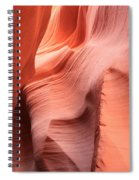 Sea Of Sandstone Spiral Notebook