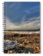 Sea Shell Sea Shell By The Sea Shore At Presque Isle State Park Series Spiral Notebook