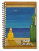 Sea View Two Spiral Notebook