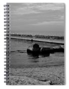 Seagull Serenity Spiral Notebook