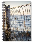 Seaside Nets Spiral Notebook