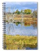 Seasons End Spiral Notebook