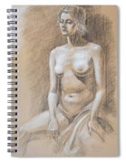 Seated Model Drawing  Spiral Notebook