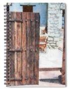 Secret Courtyard Spiral Notebook