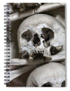 Sedlec Ossuary - Charnel-house Spiral Notebook