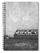 See Rock City - Farm In Tennessee Spiral Notebook