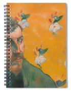 Self Portrait With Portrait Of Bernard Spiral Notebook