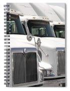 Semi Truck Fleet Spiral Notebook