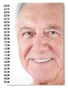 Senior Citizen Man Spiral Notebook