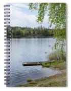 Serene Lake View Spiral Notebook