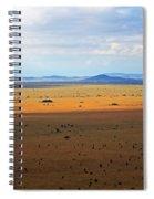 Serengeti Landscape Spiral Notebook