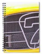 Seven Grille Spiral Notebook