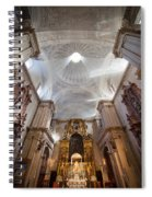 Seville Cathedral Interior Spiral Notebook