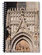 Seville Cathedral Ornamentation Spiral Notebook