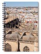 Seville Cityscape Spiral Notebook