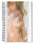 Sexy Curves Spiral Notebook