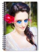 Sexy Fashion Woman Spiral Notebook