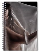 Sheer Nude Spiral Notebook
