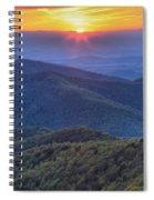 Shenandoah Sunset Spiral Notebook