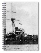 Ships Hms 'dreadnought Spiral Notebook