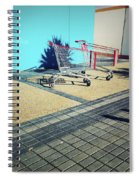 Shopping Trolleys  Spiral Notebook