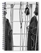 Shrimp Nets Spiral Notebook