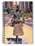 Sidewalk Catwalk 12 Spiral Notebook