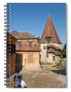 Sighisoara Transylvania Medieval Historic Town In Romania Europe Spiral Notebook