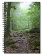 Silence Of The Forest Spiral Notebook