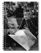Silent Film Still: Uniforms Spiral Notebook