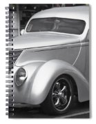 Silver Ford Spiral Notebook