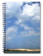 Silver Lake Sand Dunes Spiral Notebook