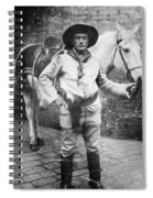 Sir Genille Cave Brown Cave (1869-1929) Spiral Notebook