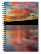 Skilak Lake, Alaska, The Aleutian Spiral Notebook