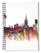 Skyline Warsaw Spiral Notebook