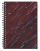 Red Dreamy Spiral Notebook