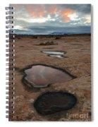 Slickrock In Arches National Park Spiral Notebook