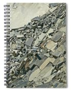 Slipping And Sliding Spiral Notebook