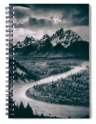 Snake River In The Tetons - 1930s Spiral Notebook