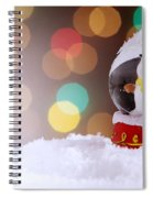 Snow Globe Spiral Notebook