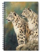 Snow Leopards Spiral Notebook
