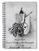 Society Of The Cincinnati Spiral Notebook