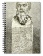 Socrates Spiral Notebook