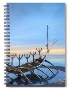 Solfar Sun Voyager Spiral Notebook