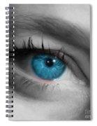 Sophie Staring Spiral Notebook