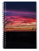 Southwest Sunset Spiral Notebook