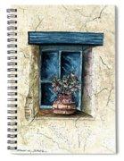 Southwest Window Sill Spiral Notebook